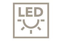 LED osvetlenie pre lepšie nasvietenie a pre príjemné kuchynské prostredie