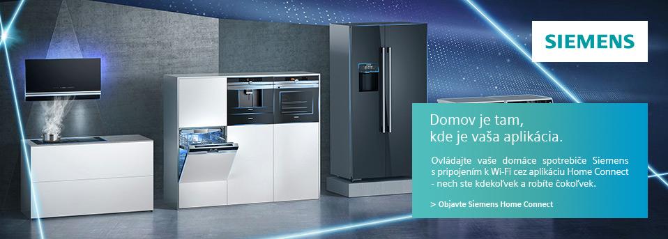 Siemens - Home Connect - Svoje domáce spotrebiče Siemens môžete ovládať odkiaľkoľvek